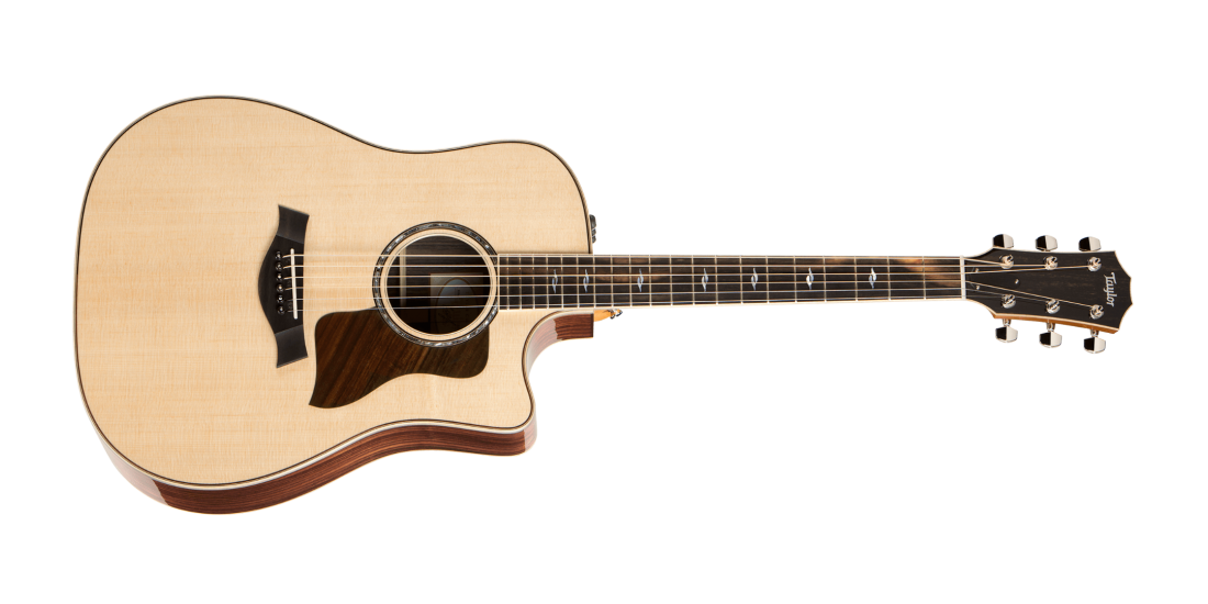 Used - Taylor 810CE Dreadnought Acoustic Electric Cutaway Guitar with Hardshell Case