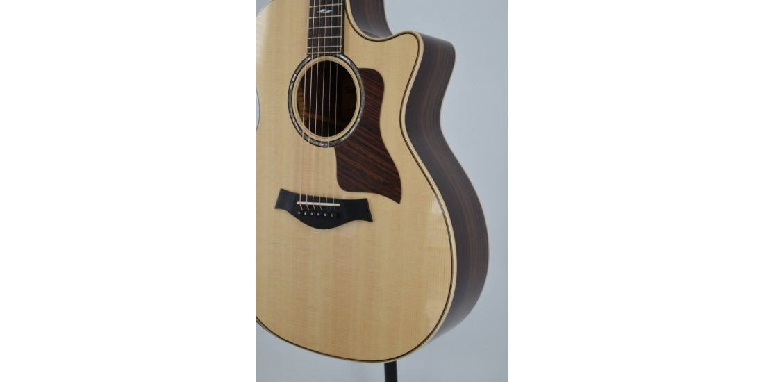 Taylor 814CEDLX Grand Auditorium Deluxe Acoustic Electric Guitar SN 1201300049