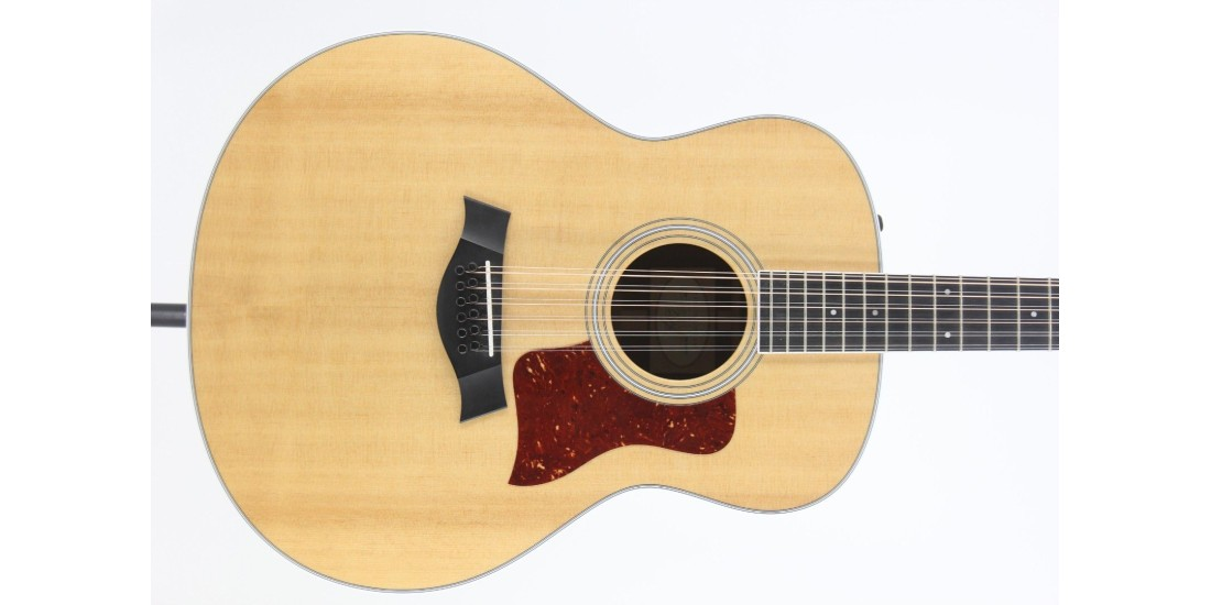 Taylor 458e Grand Orchestra 12 String Acoustic Electric Guitar with Hardshell Case