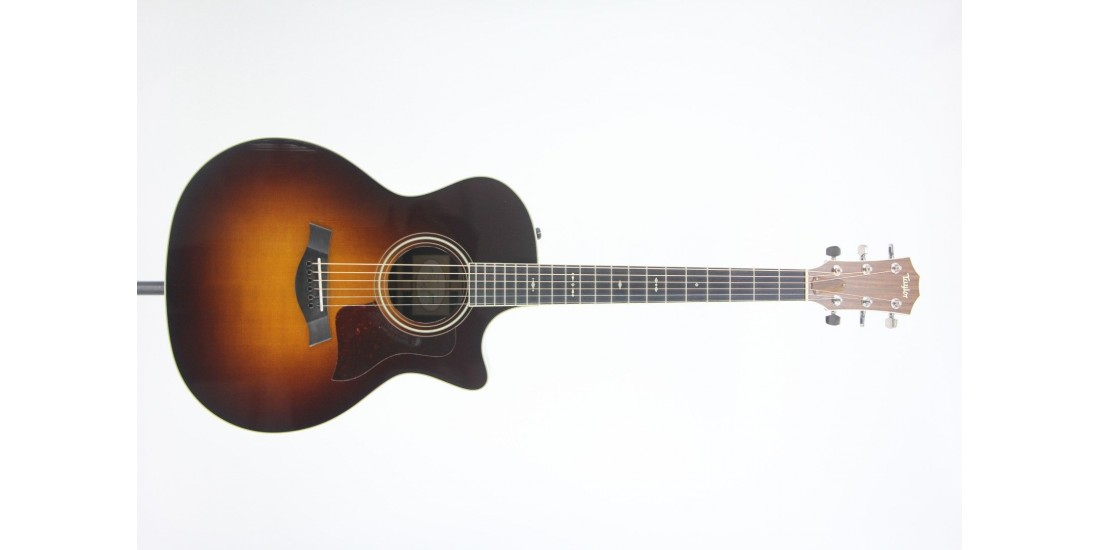 2015 Taylor 714CE-SB Grand Auditorium Acoustic Electric Cutaway Guitar with Hardshell Case SN# 1110015056