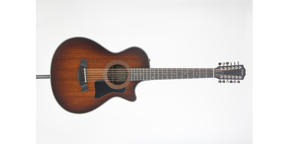 Taylor 362CE 2017 Grand Concert 12 Fret 12 String Acoustic Electric Cutaway Guitar with Hardshell Case SN#1111077096