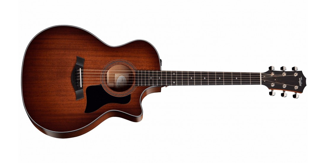 Taylor 324CE Grand Auditorium Acoustic Electric Cutaway Guitar Mahogany Top with Hardshell Case