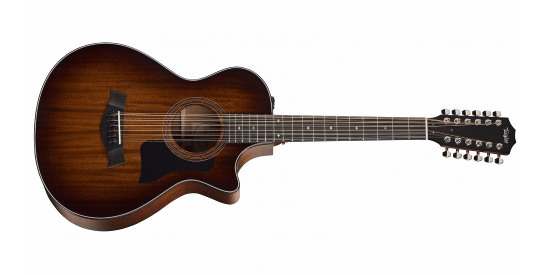 Taylor 362CE Grand Concert 12 Fret 12 String Acoustic Electric Cutaway Guitar with Hardshell Case
