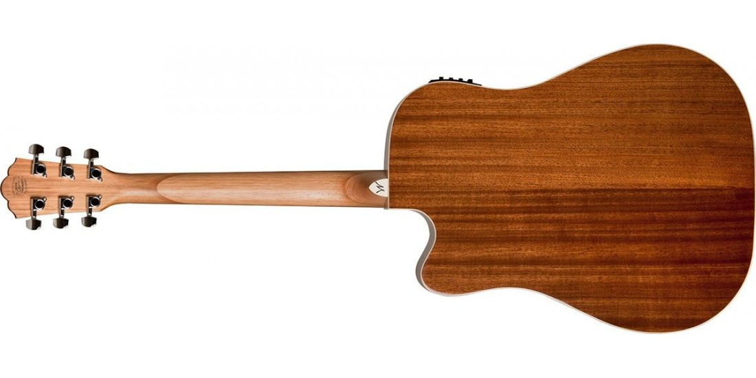 Washburn WD7SCE Dreadnought Cutaway Electric Acoustic Guitar Solid Sitka Spruce Top Mahogany Back and Sides