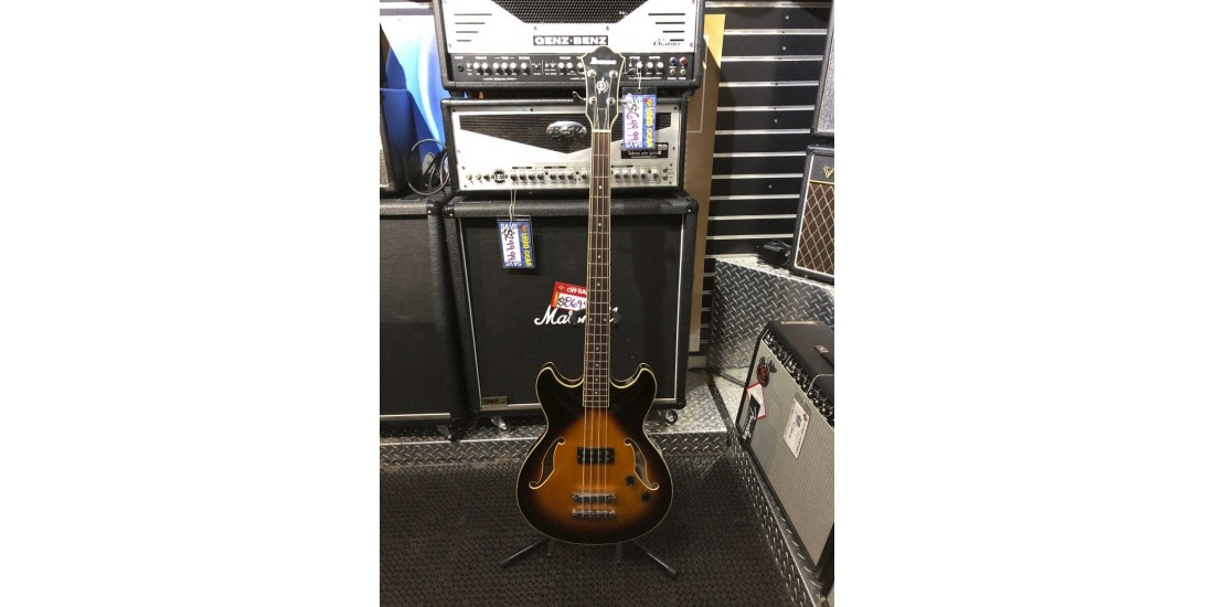Used - Ibanez ASB140 Artcore Semi Hollow Bass