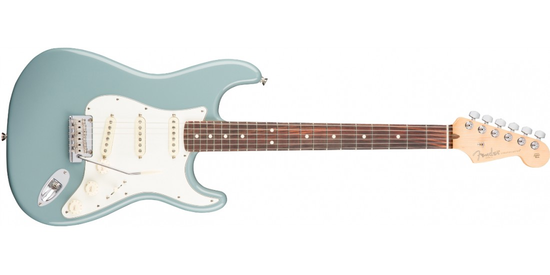 Open Box - Fender American Professional Stratocaster Electric Guitar Rosewood Fingerboard Sonic Gray