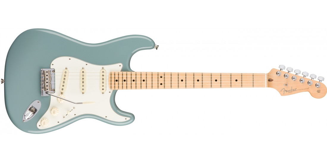 Fender  American  Professional  Stratocaster  Electric  Guitar  Maple  Fingerboard  Sonic  Gray