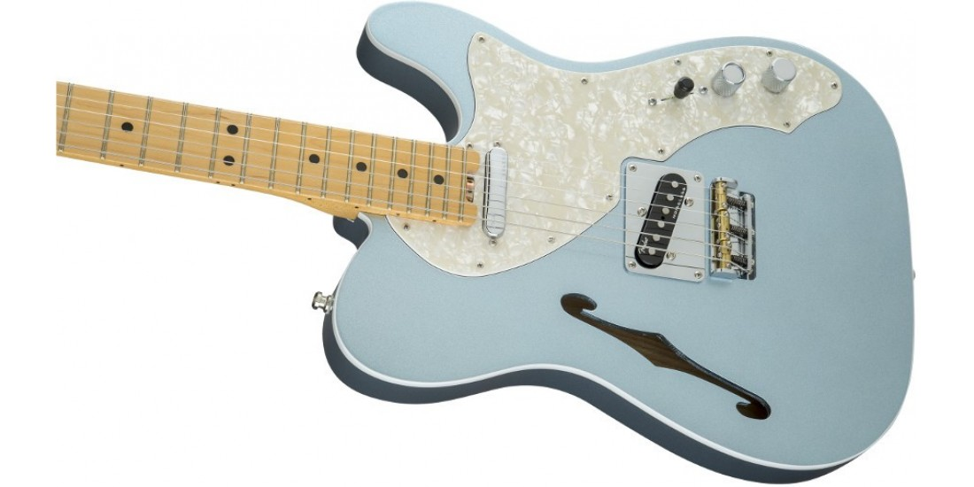 Open Box - Fender American Elite Telecaster Maple Fingerboard Mystic Ice Blue