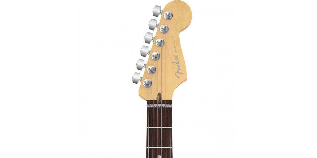 Fender USA American Deluxe HSH Stratocaster Electric Guitar Rosewood Fingerboard Olympic Pearl Finish with Case