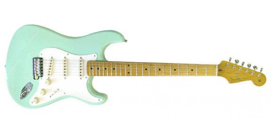Fender  Classic  50s  Stratocaster  Maple  Neck  with  Gig  Bag  Surf  Green