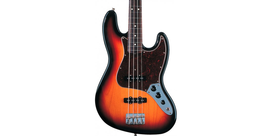 Fender  60s  Jazz  Bass  Guitar  Rosewood  Fretboard  3  Color  Sunburst