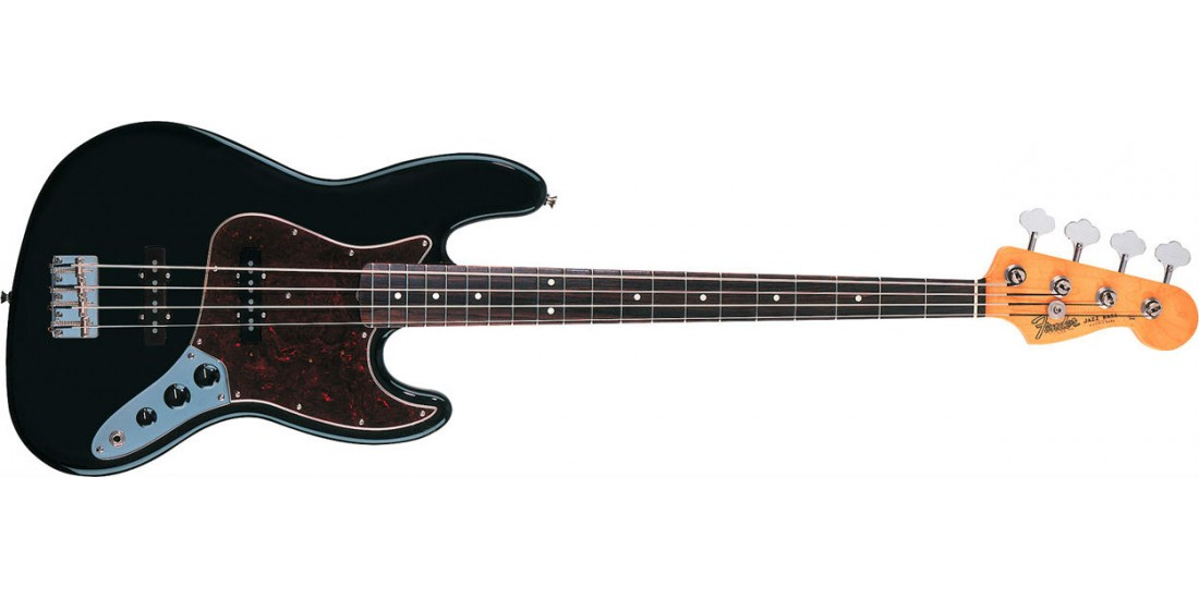 Fender 60s Jazz Bass Guitar Rosewood Fretboard with Gig Bag Black