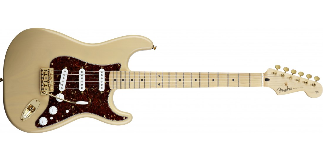 Fender Deluxe Player Stratocaster Maple Neck Maple Fretboard with Gig Bag Honey Blonde
