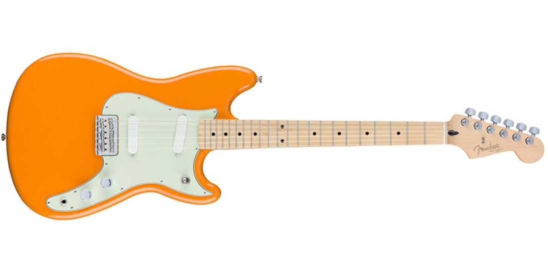 Fender Duo Sonic Maple Fretboard in Capri Orange