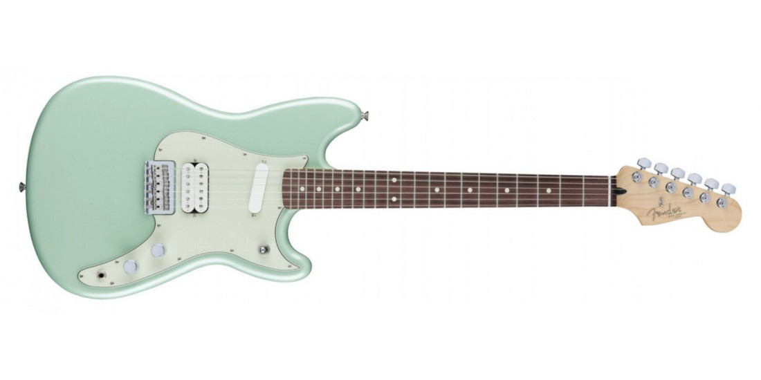 Fender  Duo  Sonic  Electric  Guitar  HS  Rosewood  Fingerboard  Surf  Green