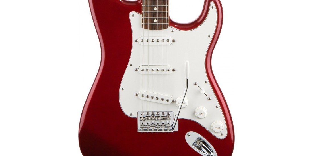 Fender Standard Stratocaster Candy Apple Red with Rosewood Fretboard