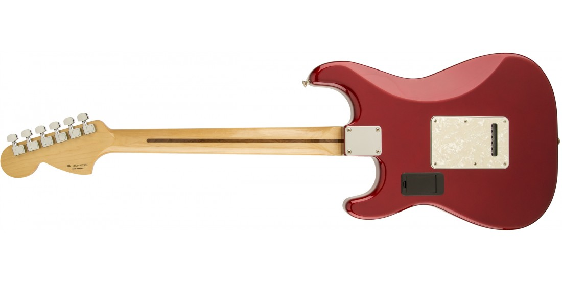 Fender DLX Roadhouse Strat Electric Guitar Maple Fretboard Candy Apple Red - Open Box