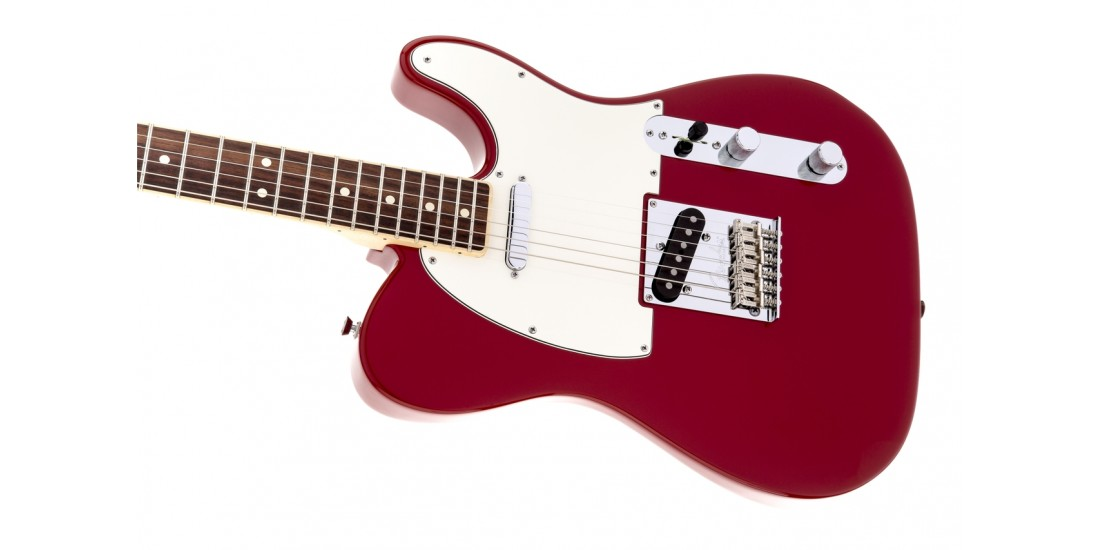 Fender Limited Edition American Standard Telecaster Channel Bound Rosewood Dakota Red - Open Box