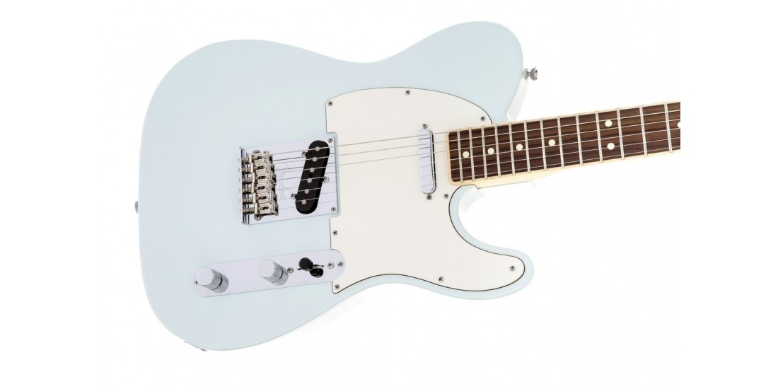 Fender Limited Edition American Standard Telecaster Channel Bound Rosewood Sonic Blue