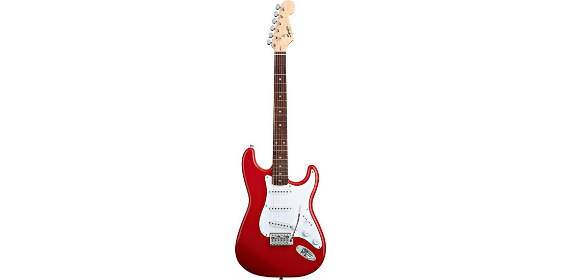 Fender Squier Bullet with Tremolo Fiesta Red Rosewood Fretboard