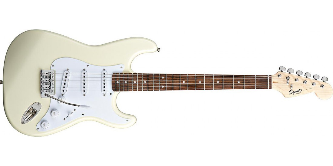 Fender Squier Bullet with Tremolo Arctic White Rosewood Fretboard