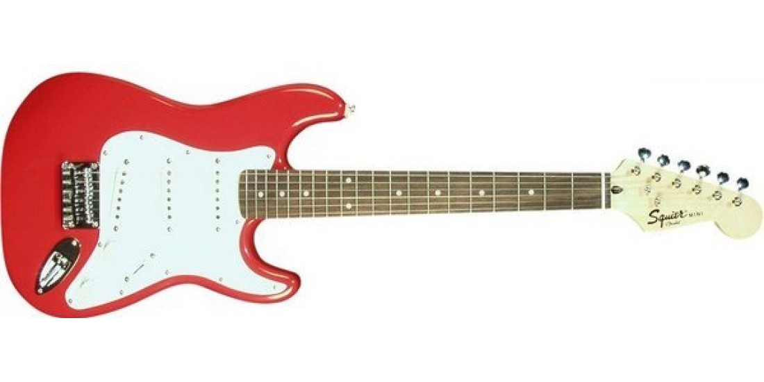 Fender  Squier  Mini  Rosewood  Fretboard  Torino  Red
