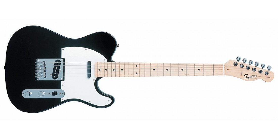 Fender Squier Affinity Series Telecaster Maple Neck Black