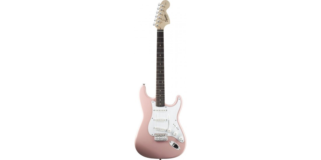 Fender Squier Affinity Series Stratocaster Shell Pink