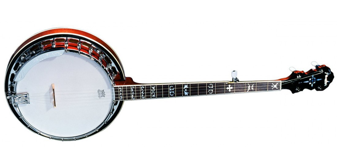 Fender FB-55 5 String Banjo Natural Finish