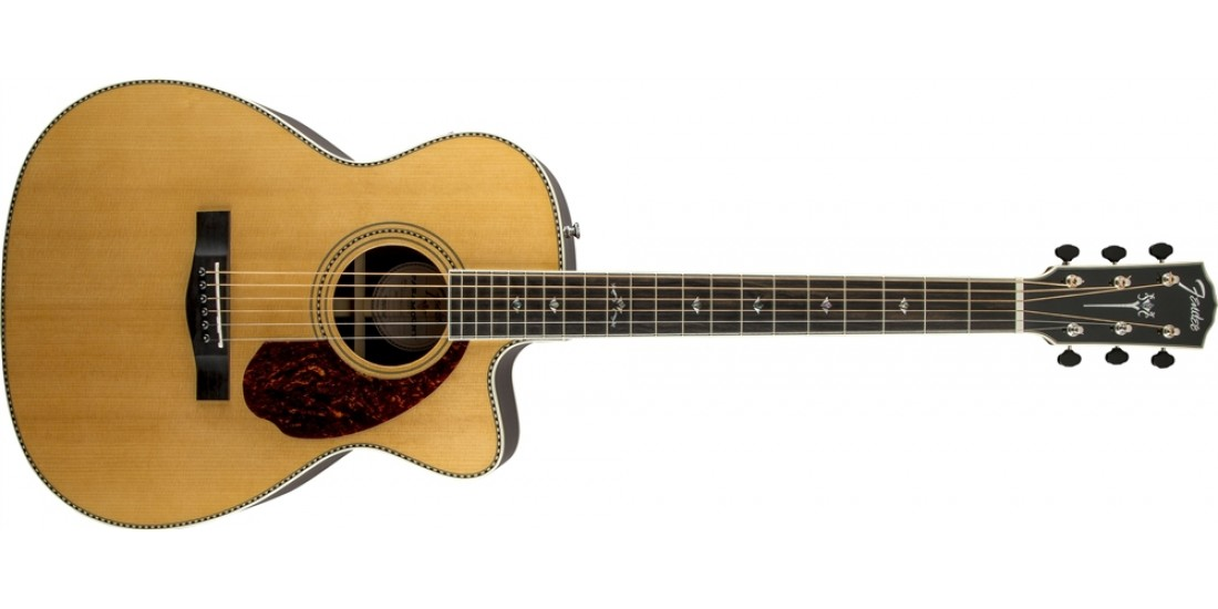 Fender PM-3 Deluxe Triple O Acoustic Guitar Natural Finish