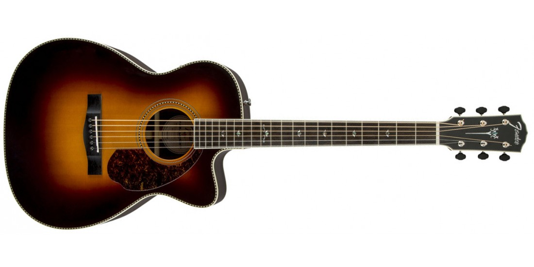 Fender PM-3 Deluxe Triple O Acoustic Guitar Sunburst
