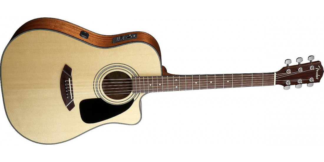 Fender CD100-CE Spruce Top Cutaway Electric Acoustic Guitar