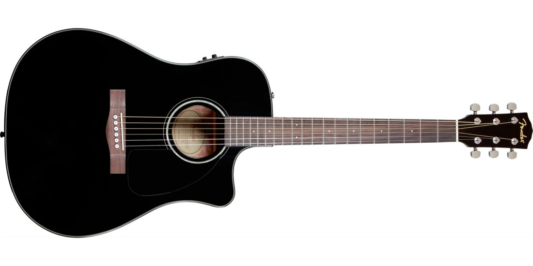 Fender CD60CE Acoustic Electric Guitar Black