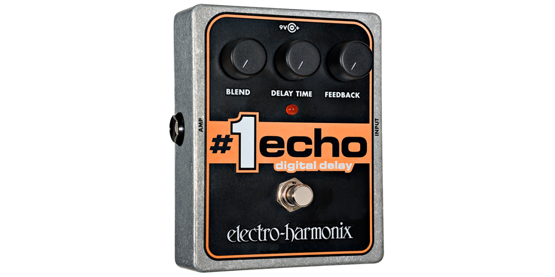 Electro Harmonix Number 1 Echo Delay Effect Pedal