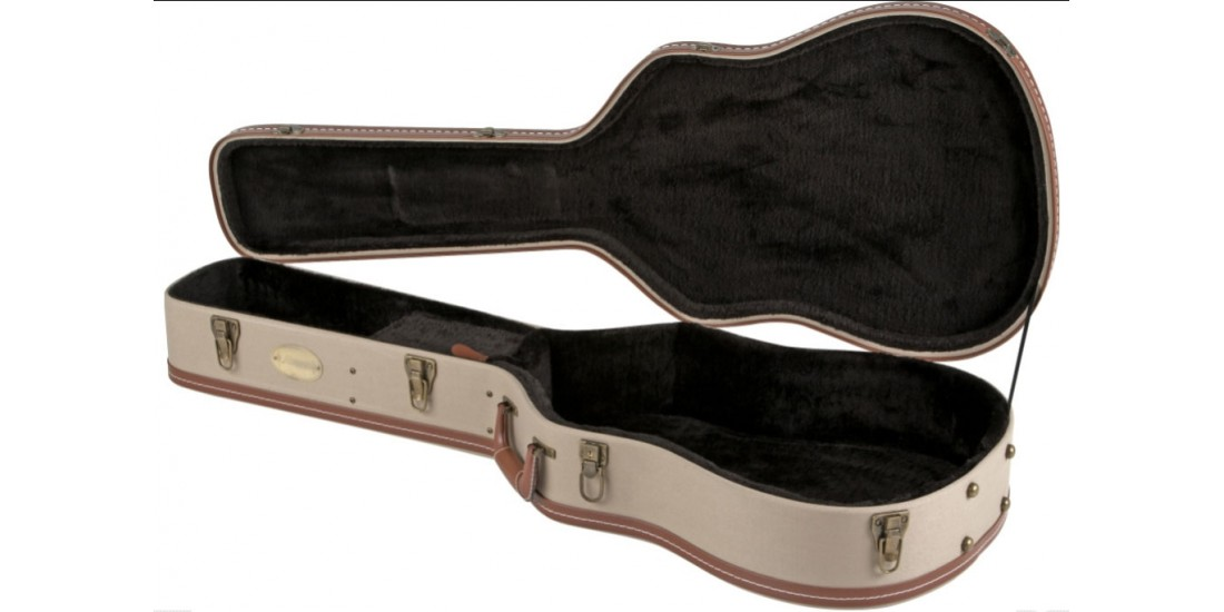 Alvarez  CC1  Deluxe  Wood  Case  for  Classical  Body  Shaped  Acoustic  Guitars