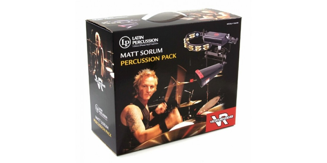 LP Latin Percussion Matt Sorum Percussion Pack