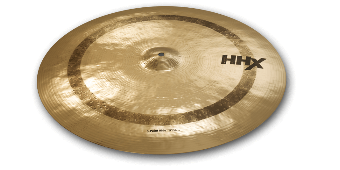 Sabian HHX 21 Inch 3 Point Ride Cymbal