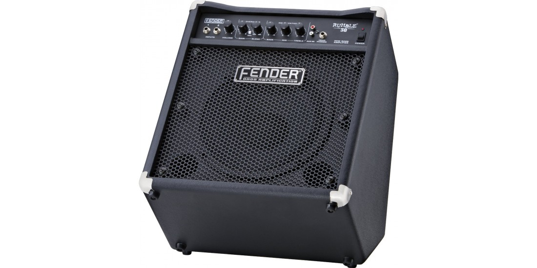 Fender Rumble 30 Watt 1x10 Inch Bass Combo Amplifier