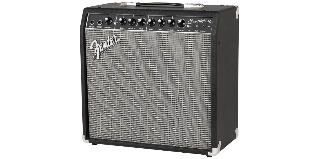 Fender Champion 40 40W Guitar Combo Amp with Effects