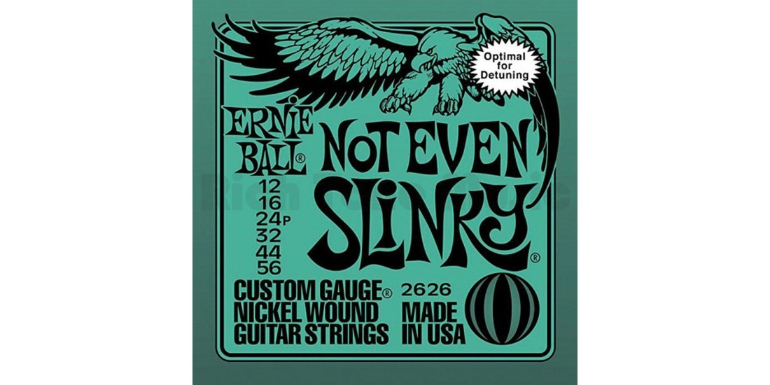Ernie Ball Not Even Slinky Electric Guitar Strings (.012-.056)