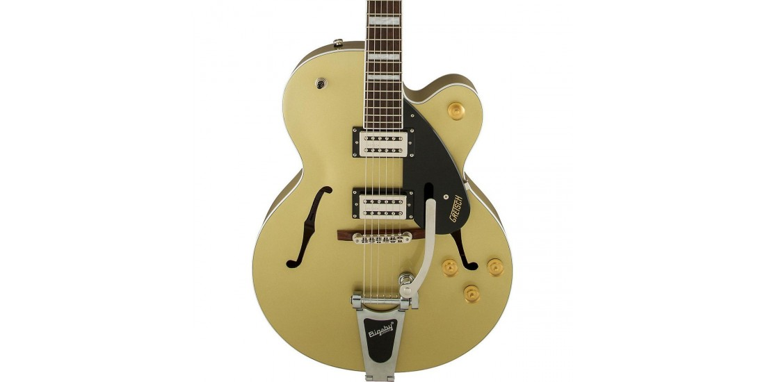 Gretsch G2420T Streamliner Hollow Body Electric Guitar GoldDust Bigsby