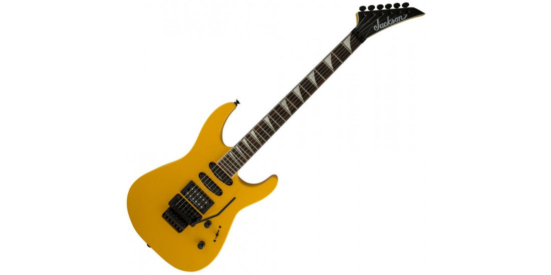 Jackson  Soloist    SL3X  Electric  Guitar  Taxi  Cab  Yellow