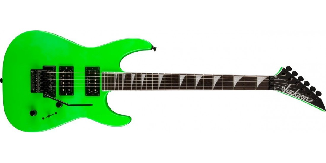 Jackson SLX Soloist Electric Guitar in Slime Green