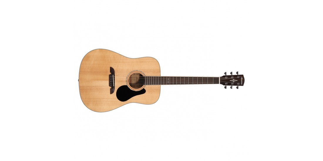 Alvarez  AD60  Acoustic  Guitar  Natural  Finish