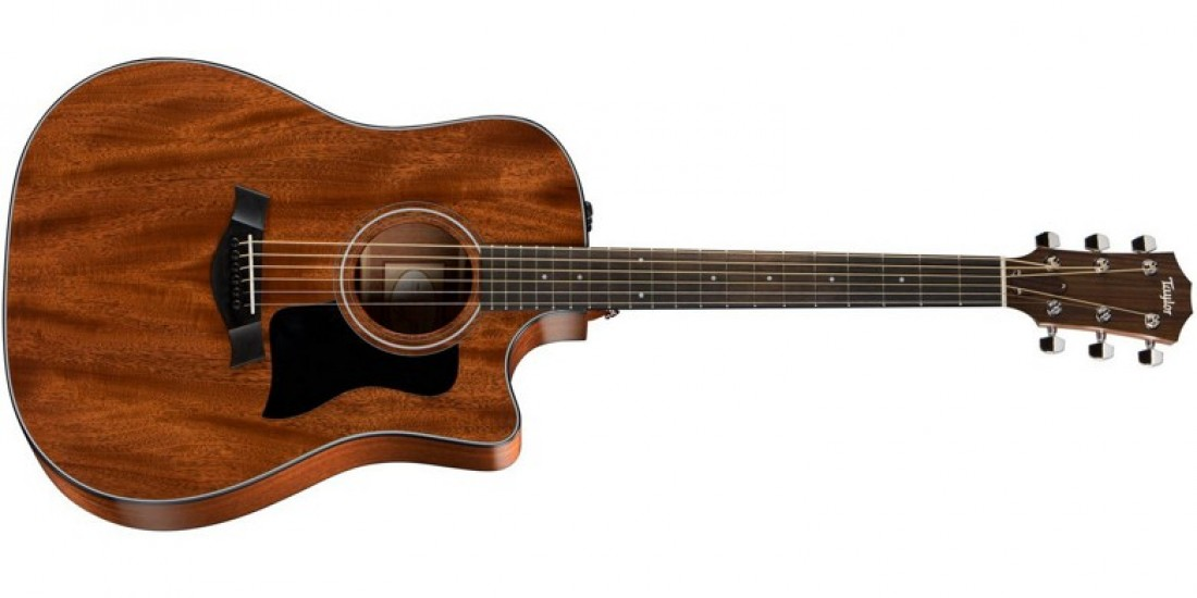 2015 Taylor 320CE Dreadnought Acoustic Electric Guitar Tropical Mahogany Top Sapele Back & Sides