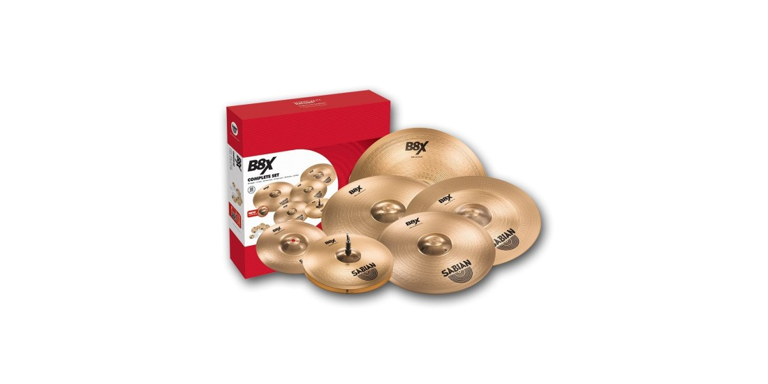 Sabian B8X Complete Set Cymbal Package