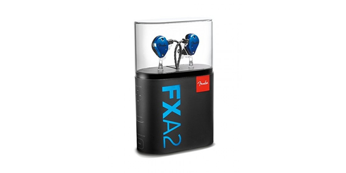 Fender FXA2 Pro In Ear Monitor Ear Buds Blue
