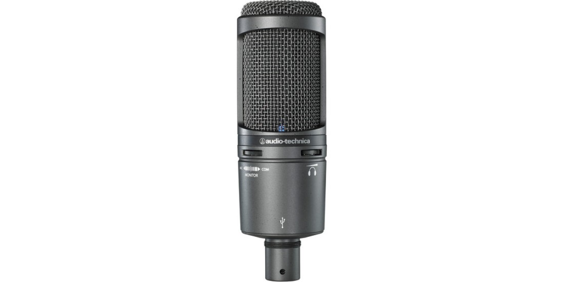 Audio Technica AT2020-USB plus Cardioid Studio Condenser Microphone with USB Output