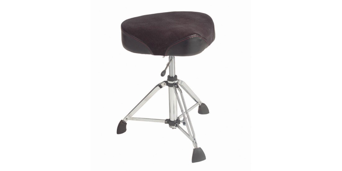 Gibraltar 9608HM Heavy Duty Professional Hydralic Drum Throne with Moto Seat