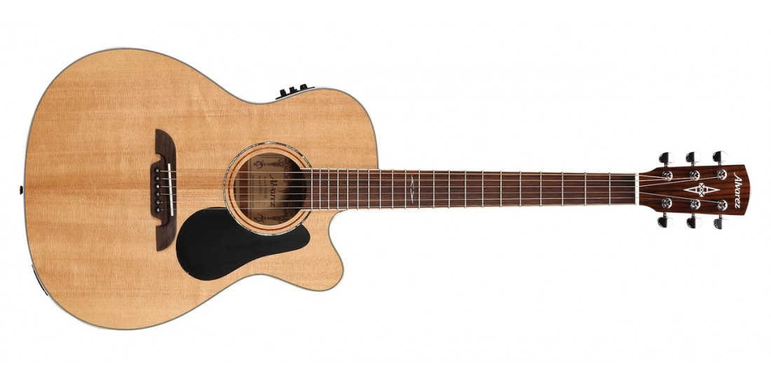 Alvarez AF60CE Acoustic Electric Guitar Natural Finish